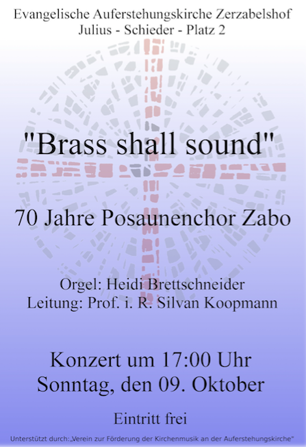 brass shall sound 16